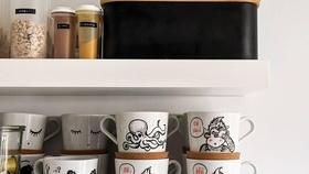 Ordnung und neue handbemalte becher  ordnung dymo kaffeebecher  5c6cada9 628c 418f a125 23cb8ba4b6ce