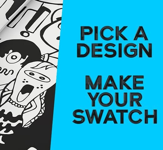 -Anzeige- Pick a design, make your swatch!