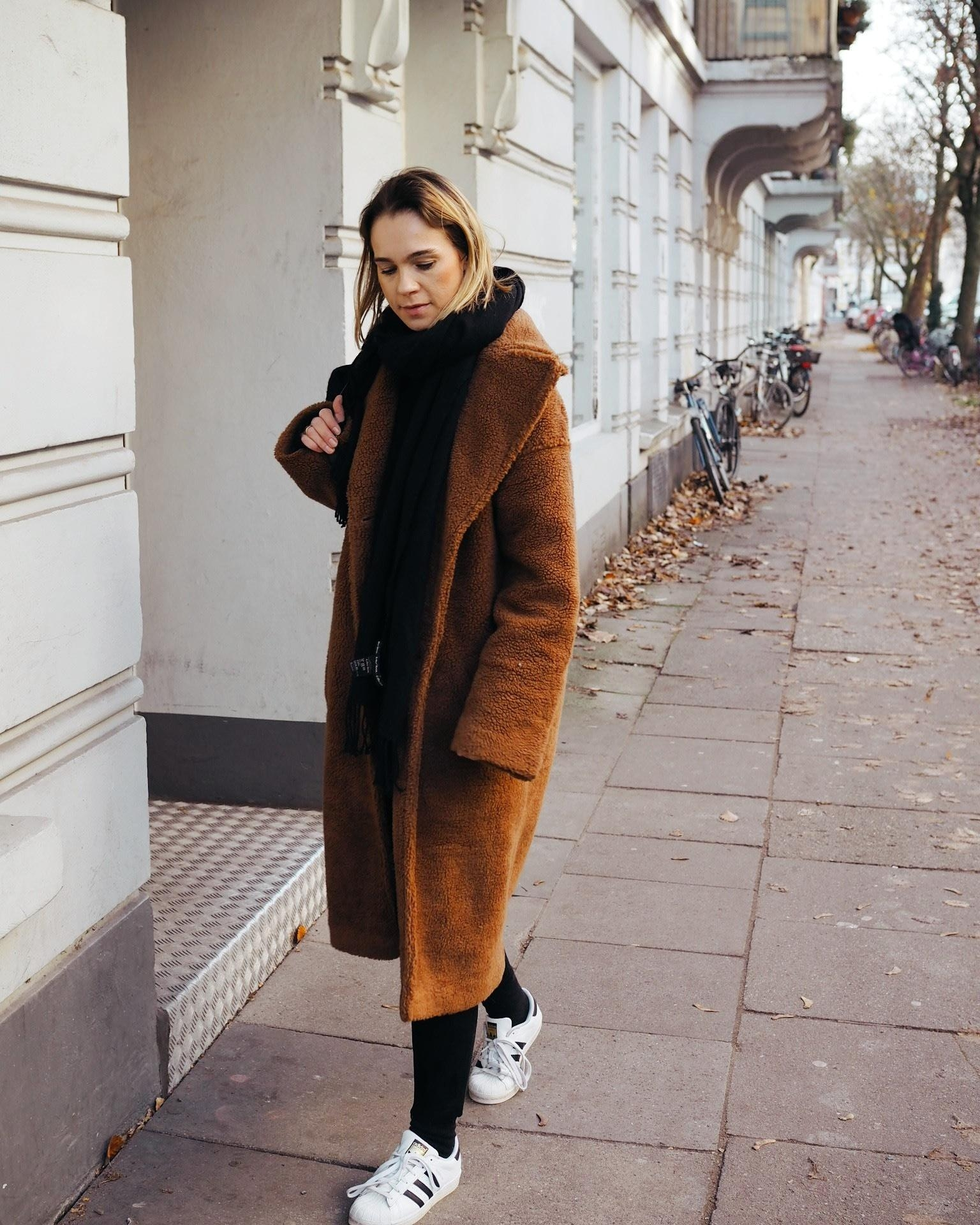 🐻 #teddycoat #teddymantel #herbstlook #fashioncrush #fashion #streetfashion