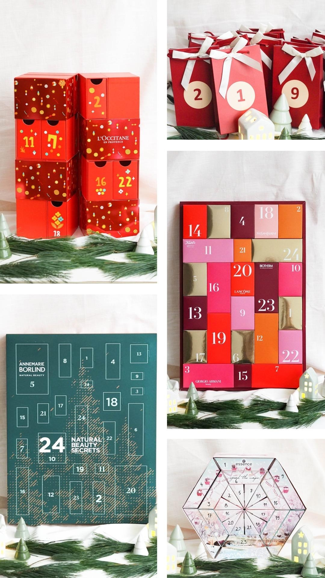 24 Türchen voller Beauty-Highlights: Das sind unsere Top 10 der Beauty-Adventskalender #beautylieblinge #beautykalender
