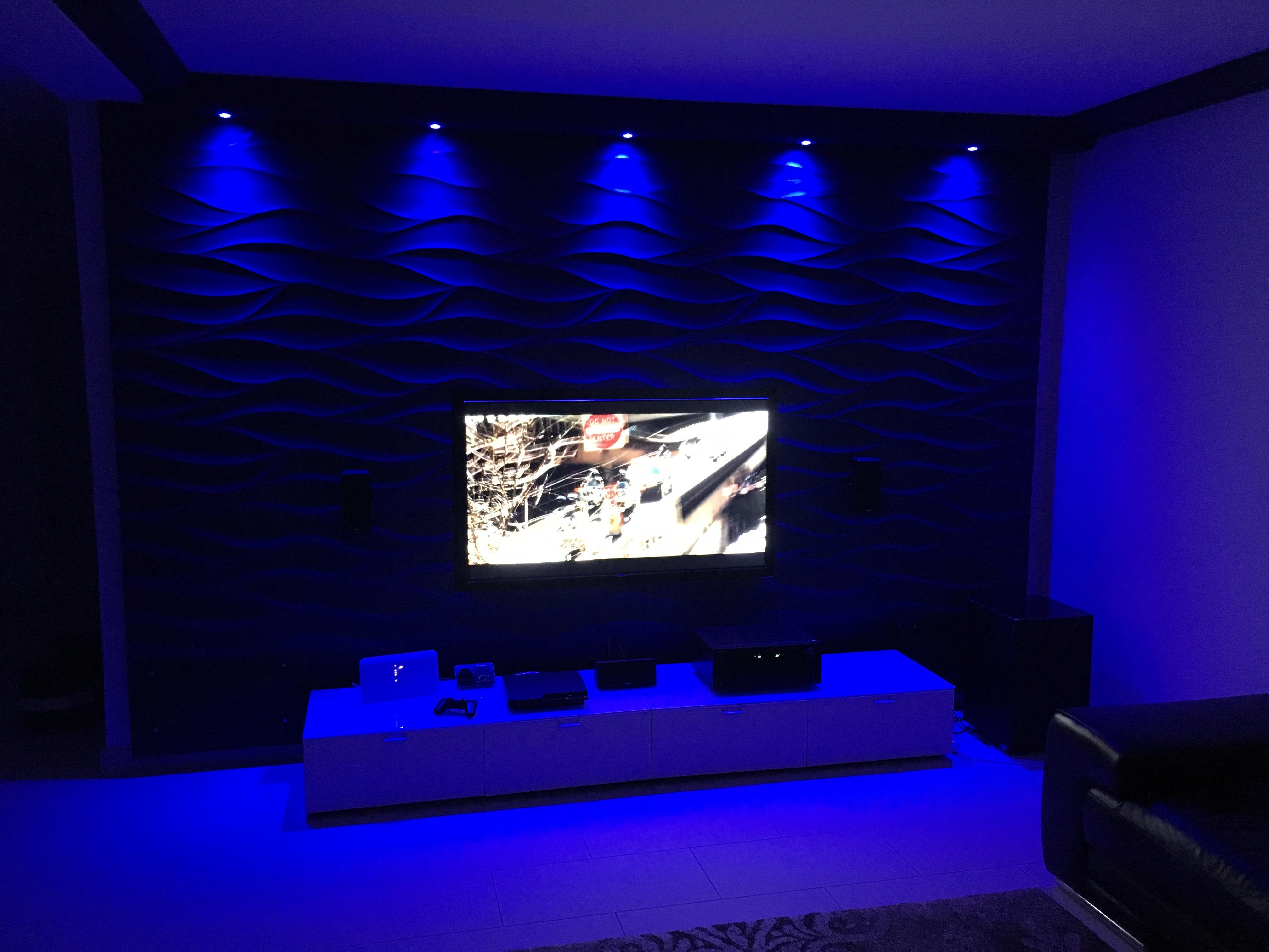 3d wandpaneel bilder ideen couchstyle. Black Bedroom Furniture Sets. Home Design Ideas
