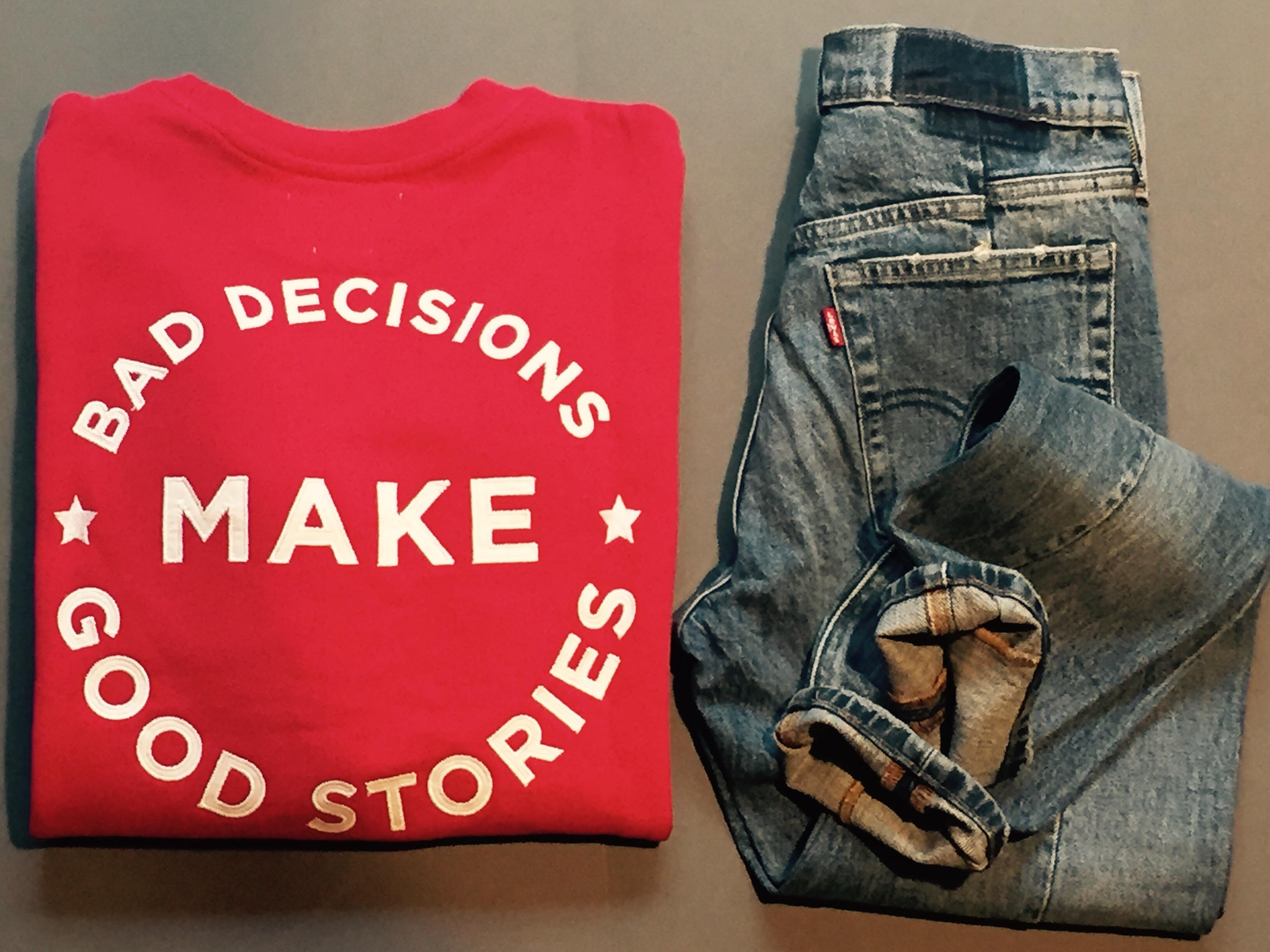 """A original is always a good decision""