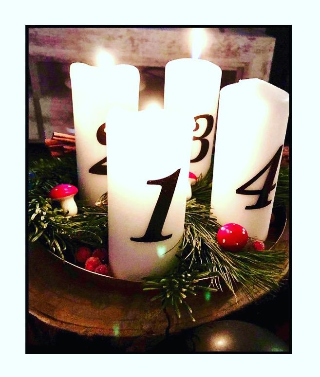 Advent Advent...#cozyhome#diy#christmastime