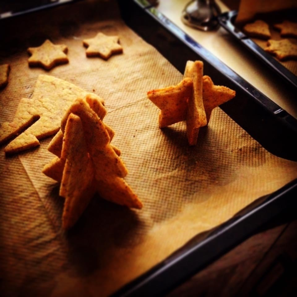 #advent #backen #3D #plätzchen #küche #homemade #diy