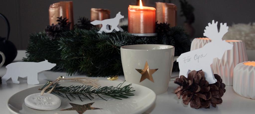 Adventskaffee bei Push&Coco #geschirr ©Push&Coco
