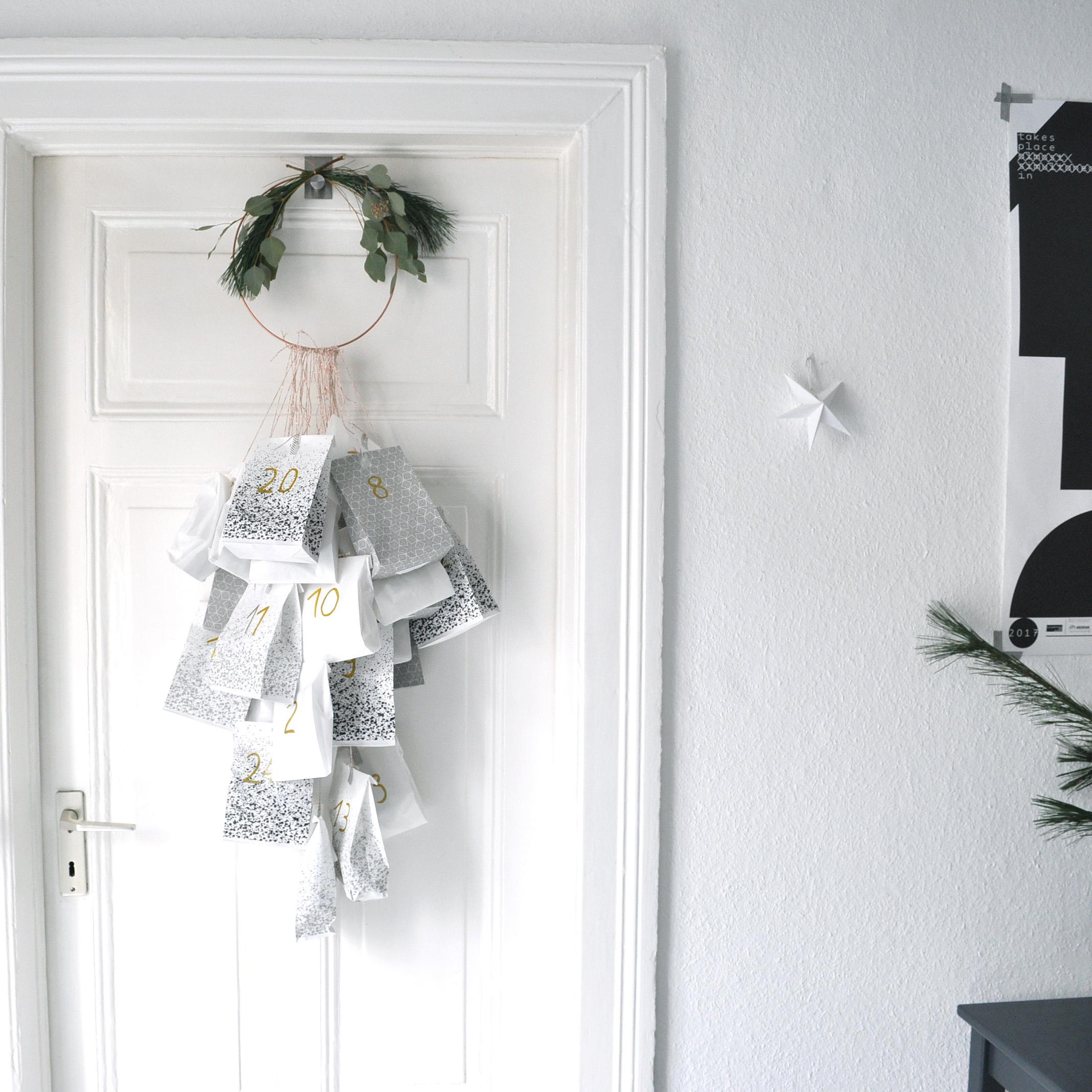 #adventskalender #diy #blackandwhite #interior