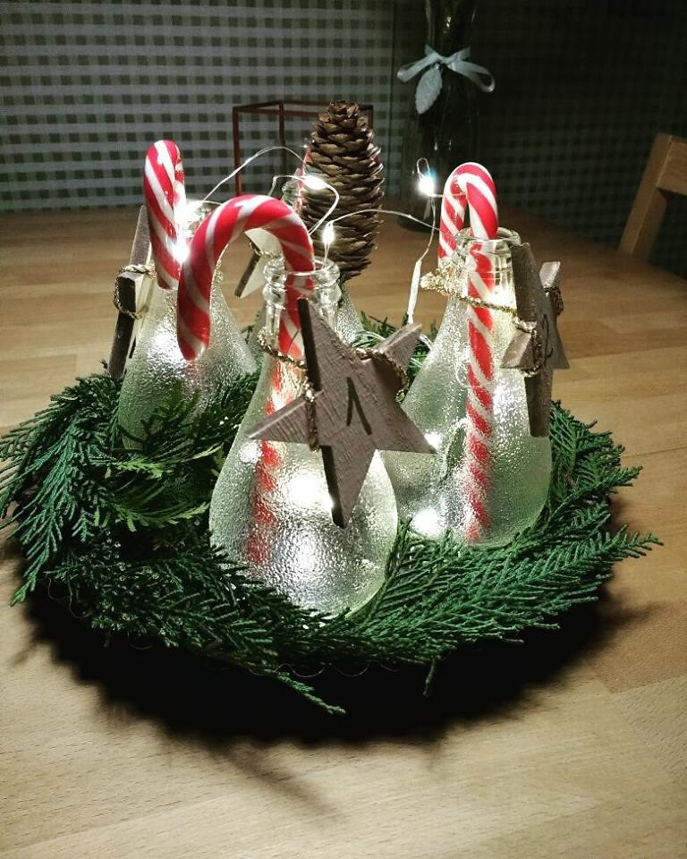 #adventskranz #recycle #upcycle #lesswaste #creativestuff #diy