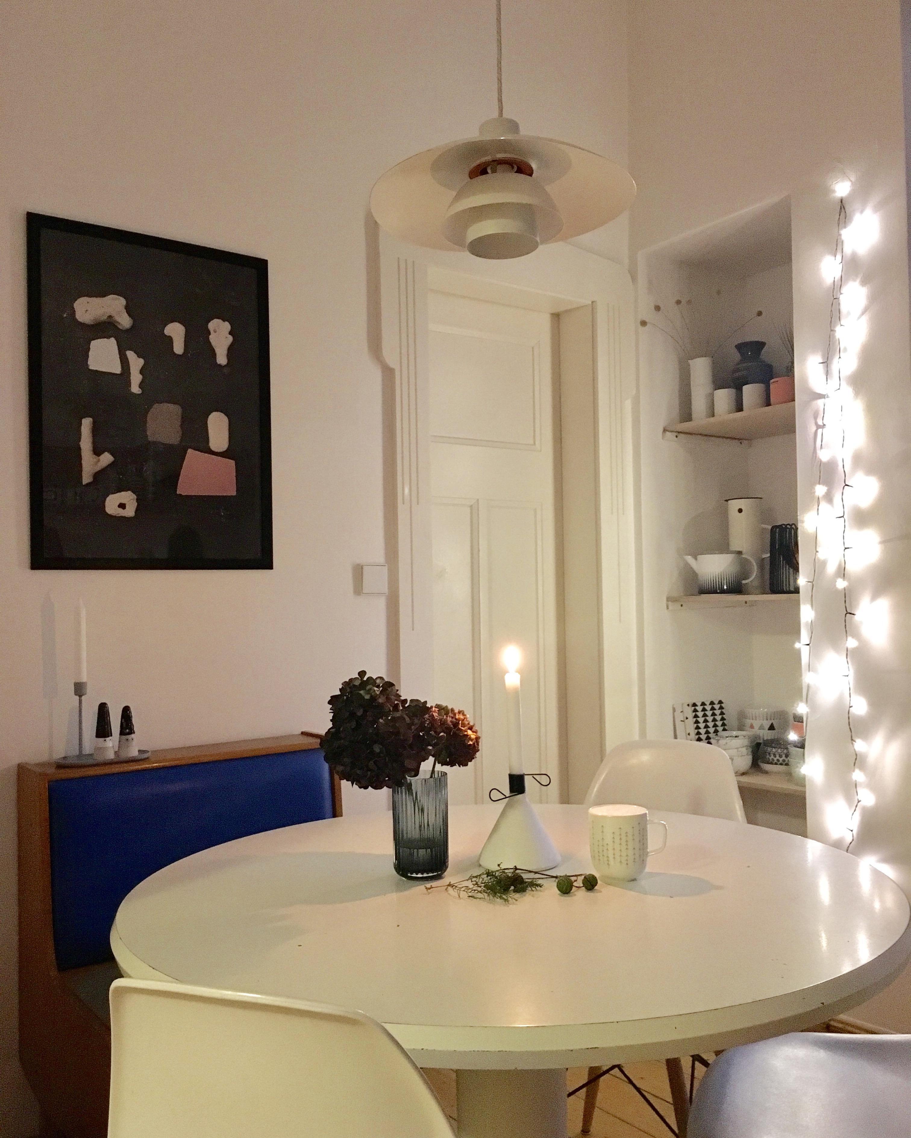 Erstaunlich Hängelampe Küche Foto Von #küche #pendelleuchte #louispoulsen #vintage #sitzbank #