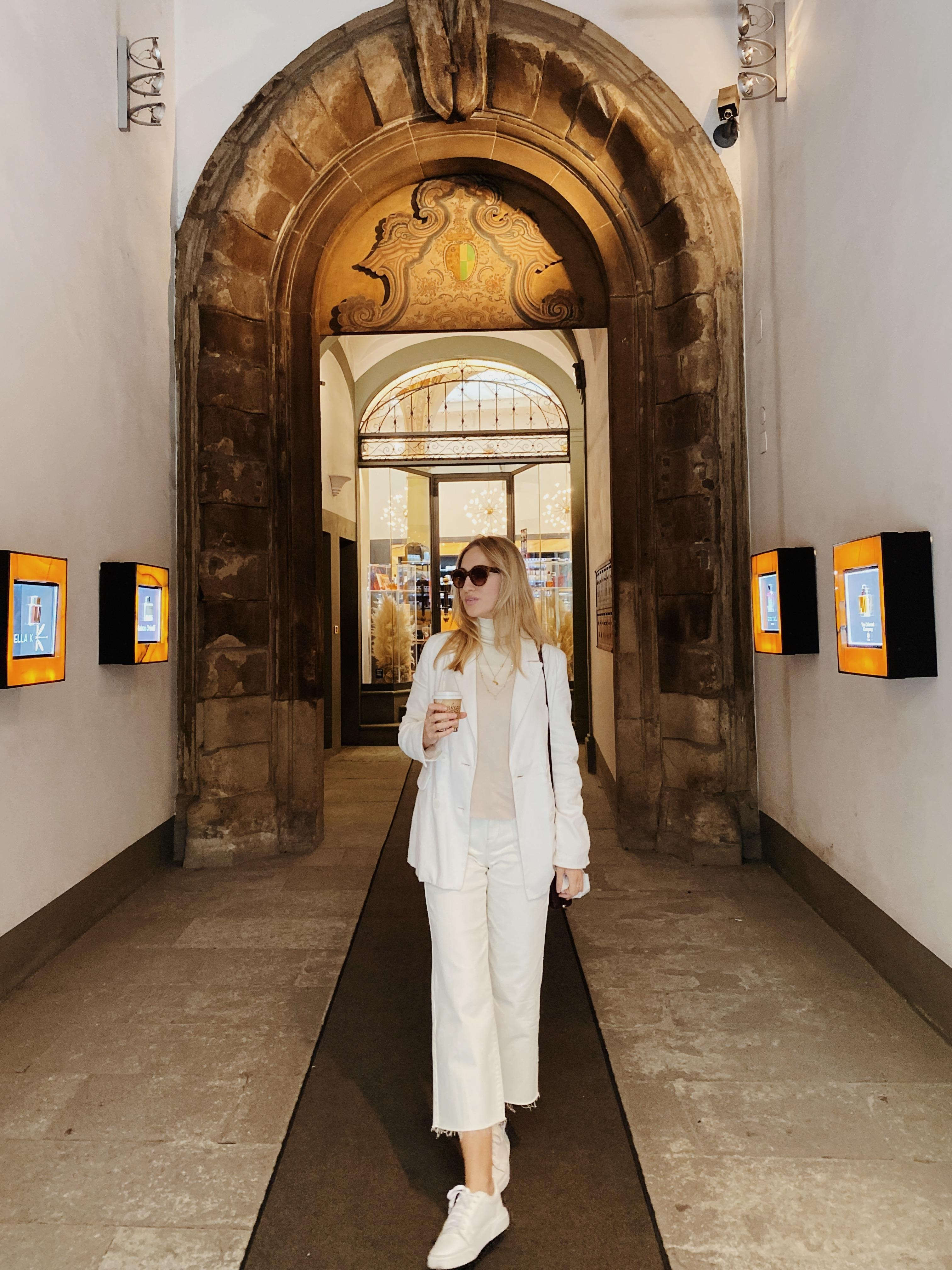 All white in Florence ✨ #florenz #toskana #outfit #allwhite #fashionlove