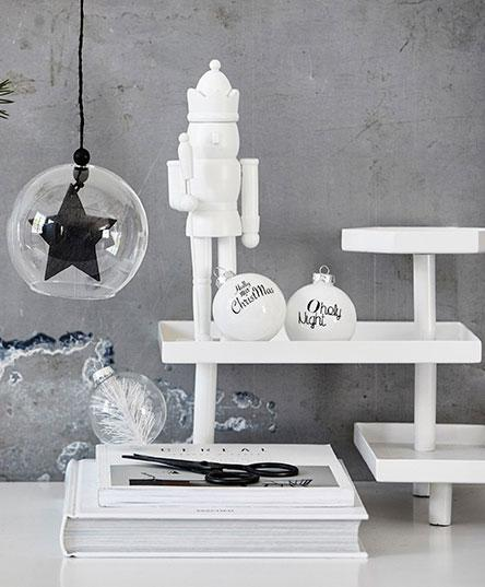 All white