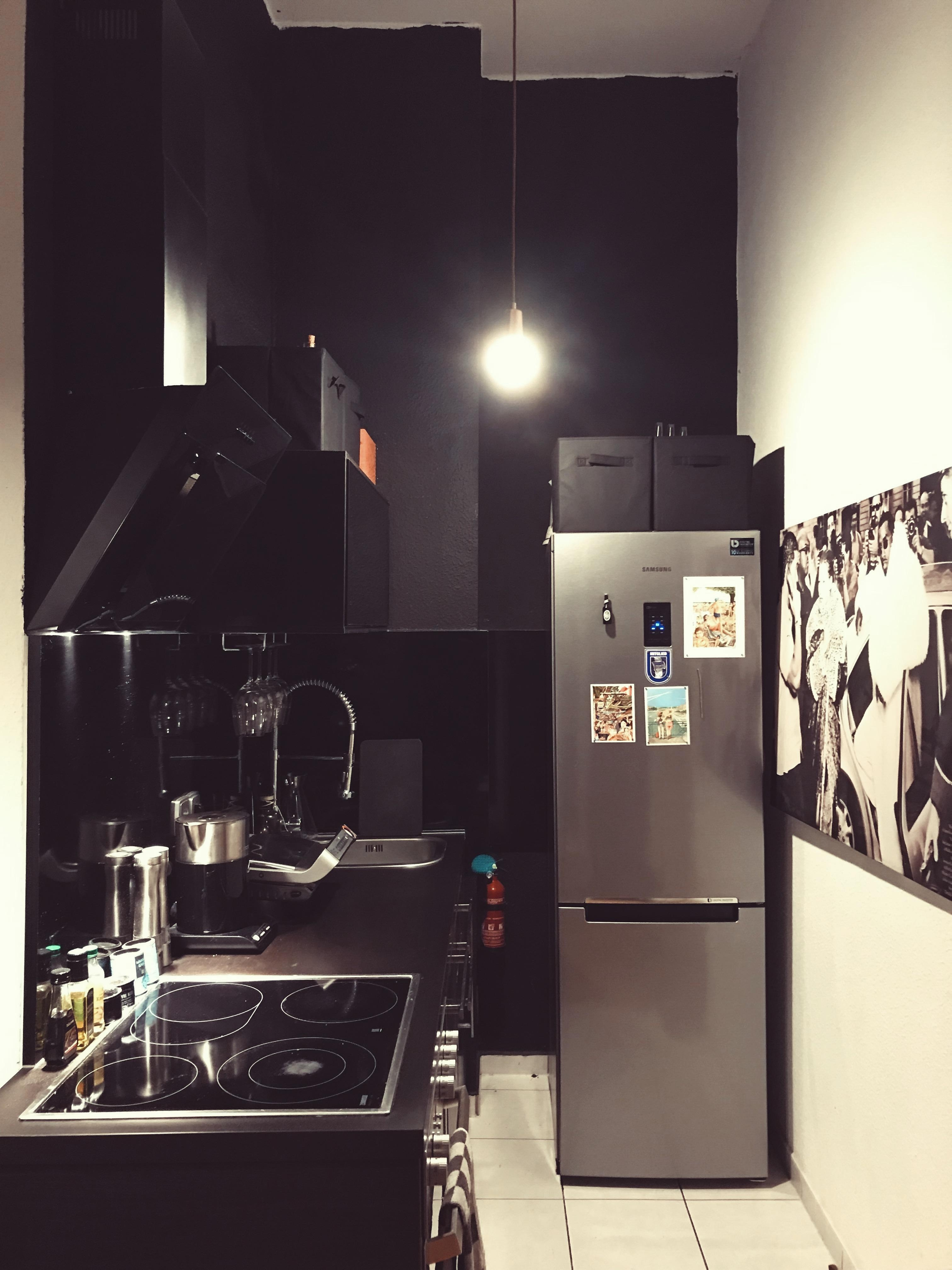 #allblack #kitchen #selfmade