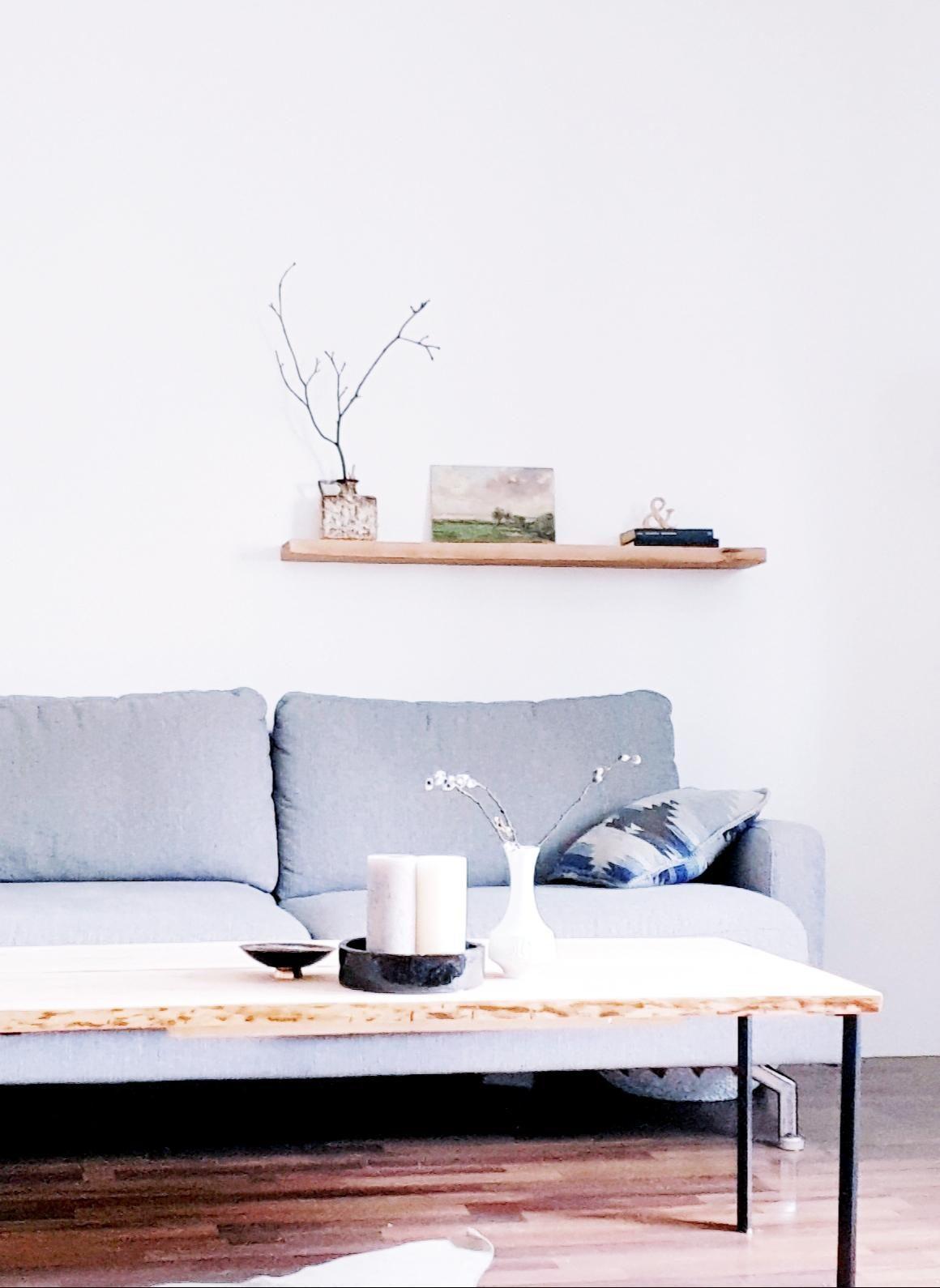 Alter Tisch Neue Beine WohnzimmercouchtischSofabilderleiste