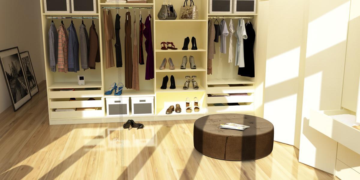 begehbarer kleiderschrank bilder ideen couchstyle. Black Bedroom Furniture Sets. Home Design Ideas