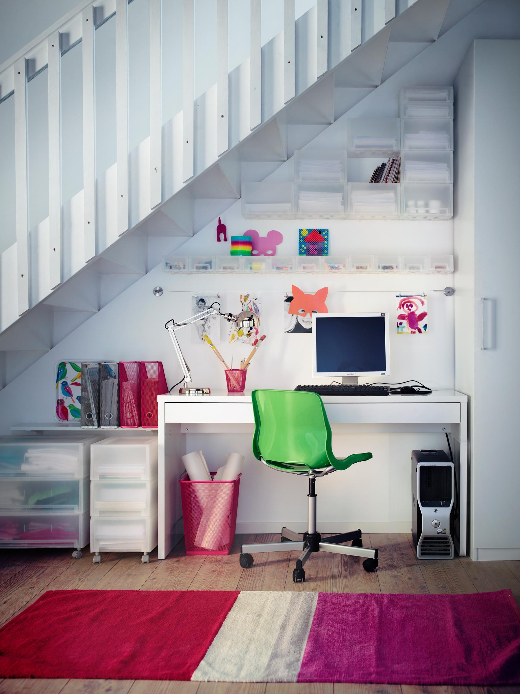 arbeitsplatz unter der treppe #arbeitsplatz #dielenb