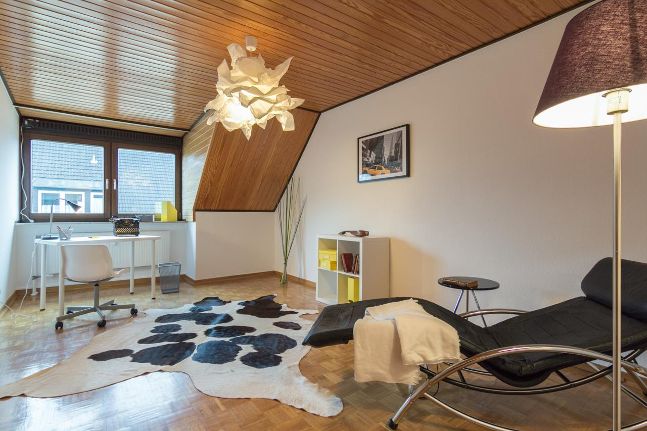 Arbeitszimmer nachher #arbeitszimmer ©Florian Gürbig / Immotion Home Staging