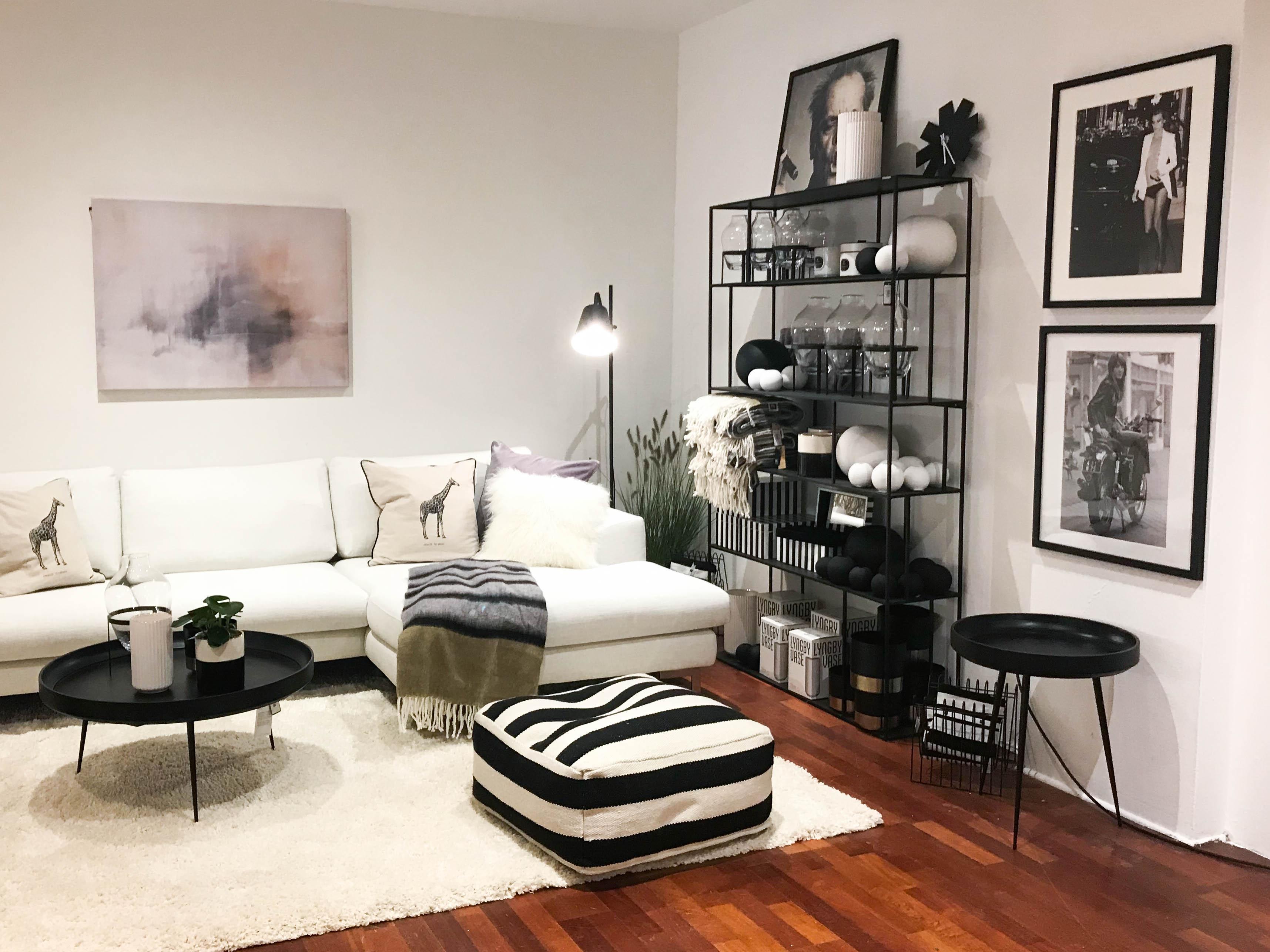 wohnzimmer schwarz wei, schwarz weiß • bilder & ideen • couch, Design ideen