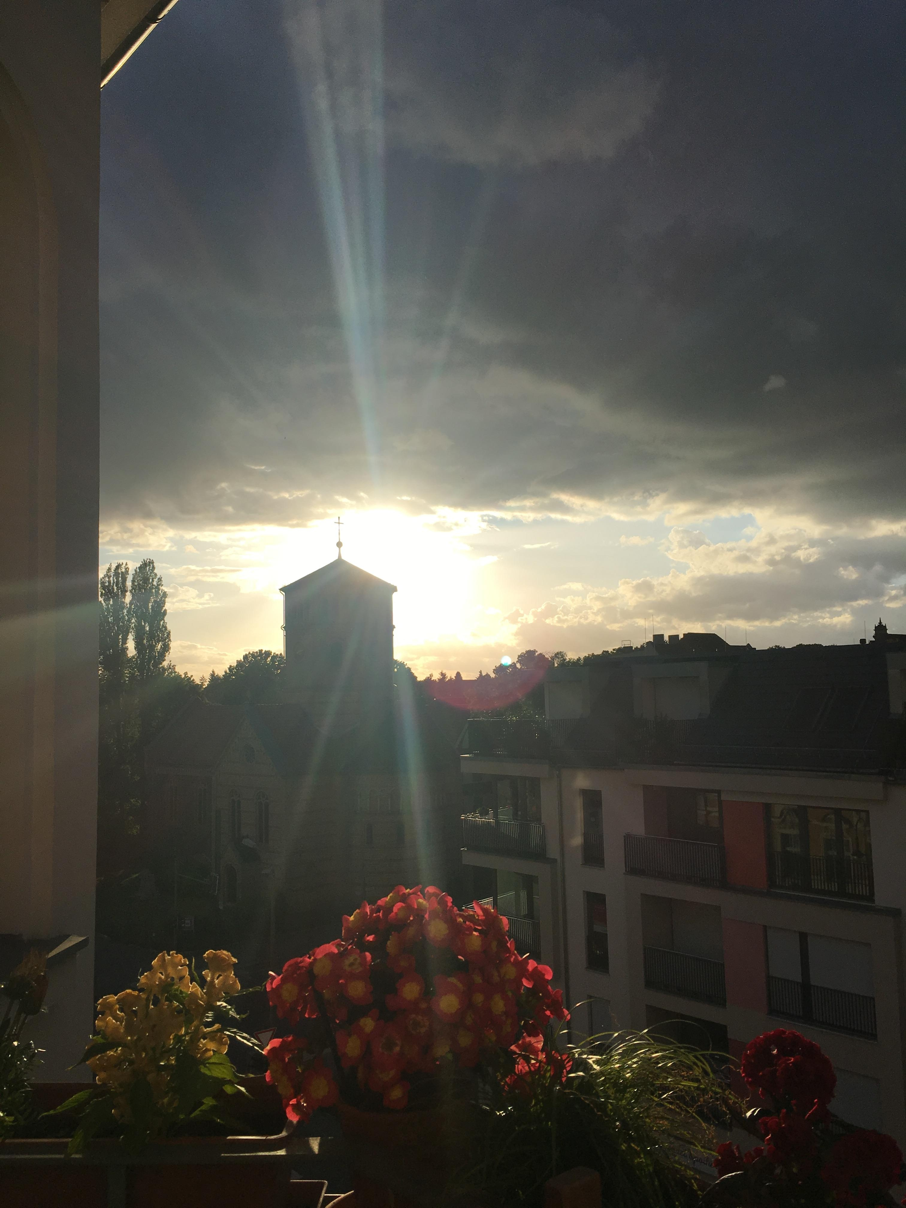 Aussicht Vom Berliner Balkon Livingchallenge Balko