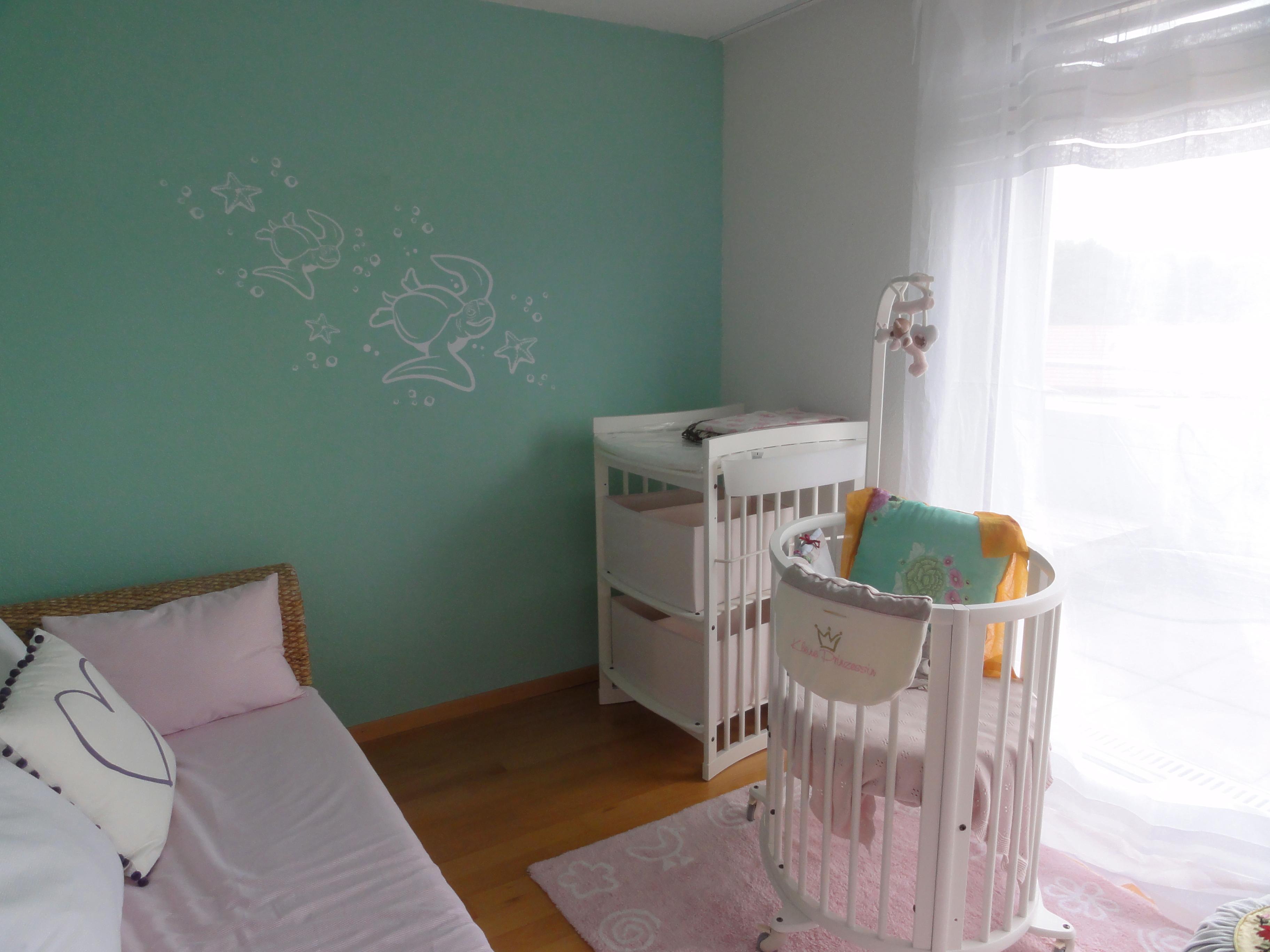 Babyzimmer Wandtattoo C Andreainteriordesign Couch