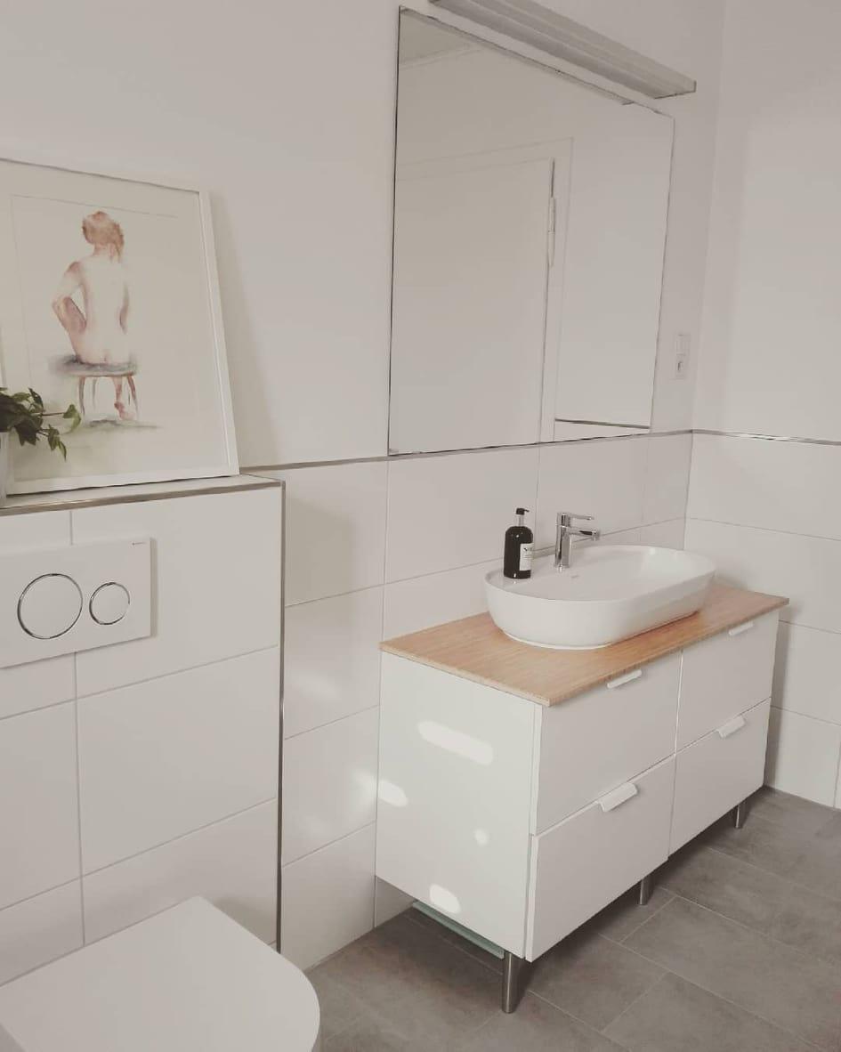 Ikea Hack Badezimmer Unterschrank
