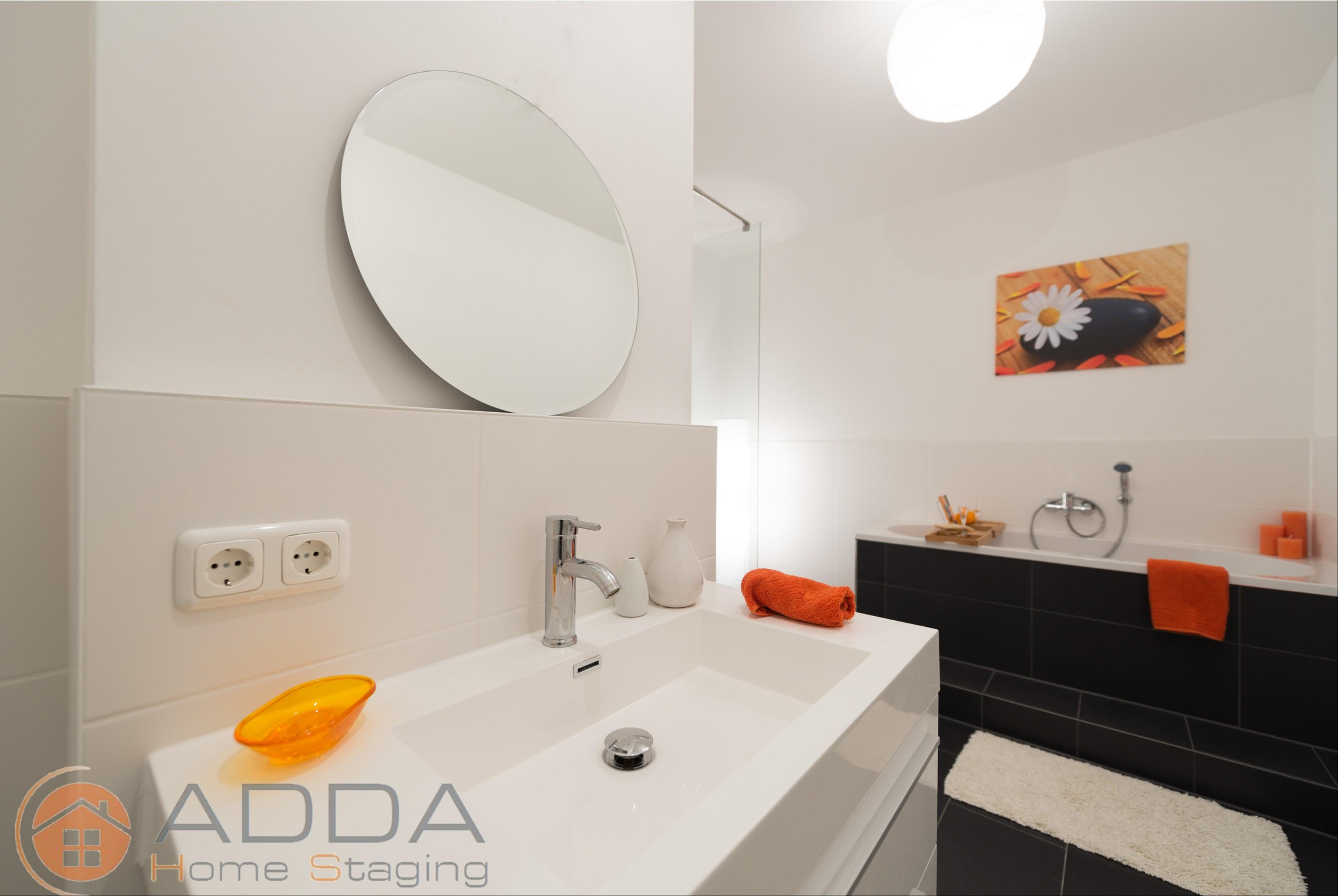 Bad nach dem Home Staging #badidee ©ADDA Home Staging
