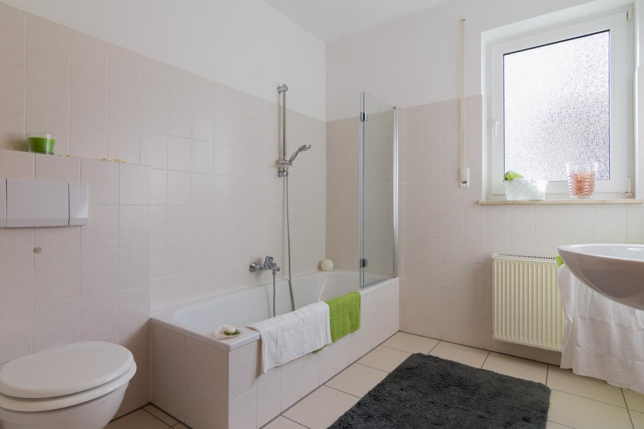 Bad nachher #bad #badezimmer ©Florian Gürbig / Immotion Home Staging