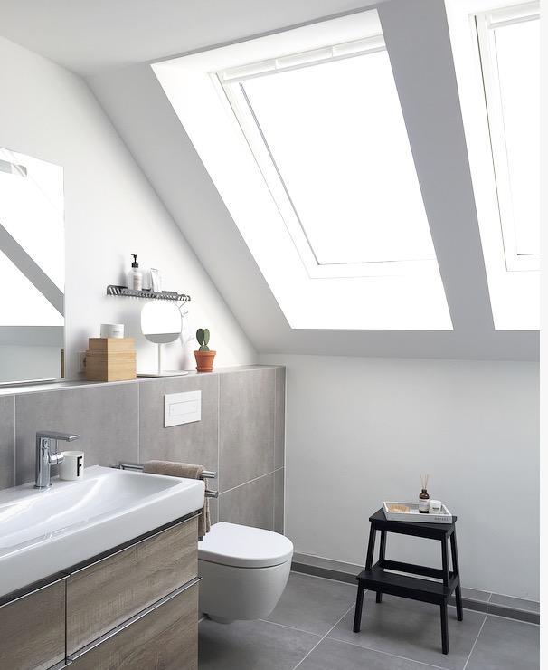Dachschr ge bilder ideen couchstyle for Kleines dachfenster