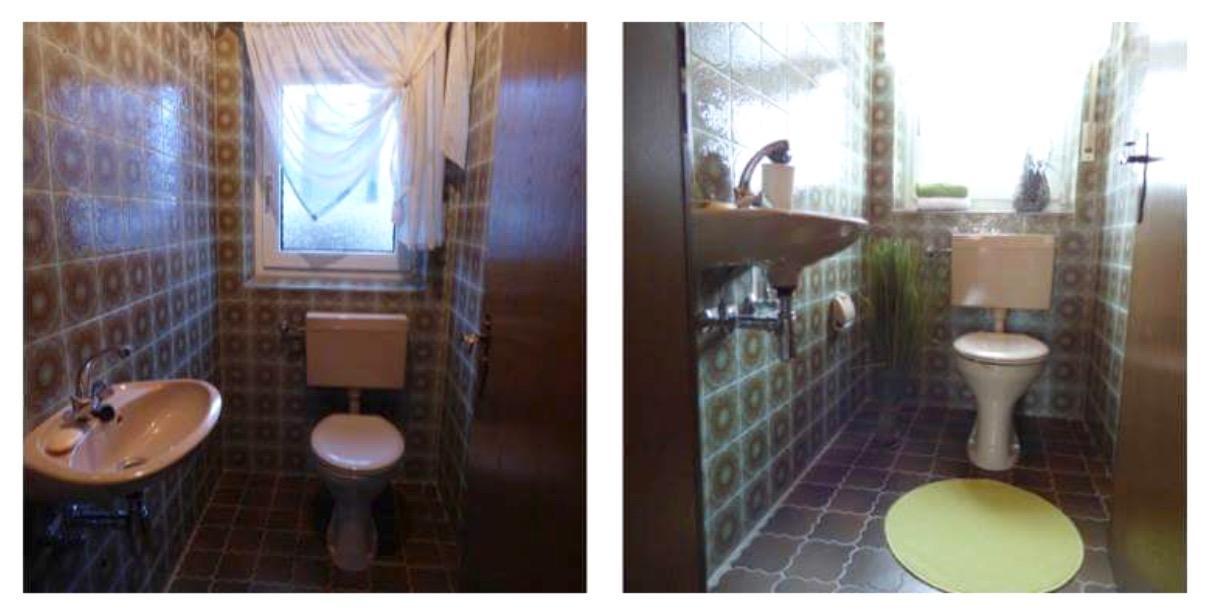 #badezimmer / #gästewc Vor Und Nach Dem #homestaging Durch HOME STAGING  MÜNCH