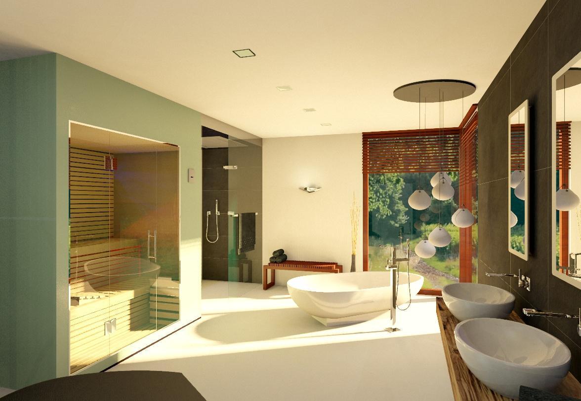 Badezimmer 20 Qm Waschtisch Waschbecken Holzwaschtisch Sauna Badsauna  20qmbadezimmer Haengedeko My Lovely Bath Planer B4766685 Bf8b