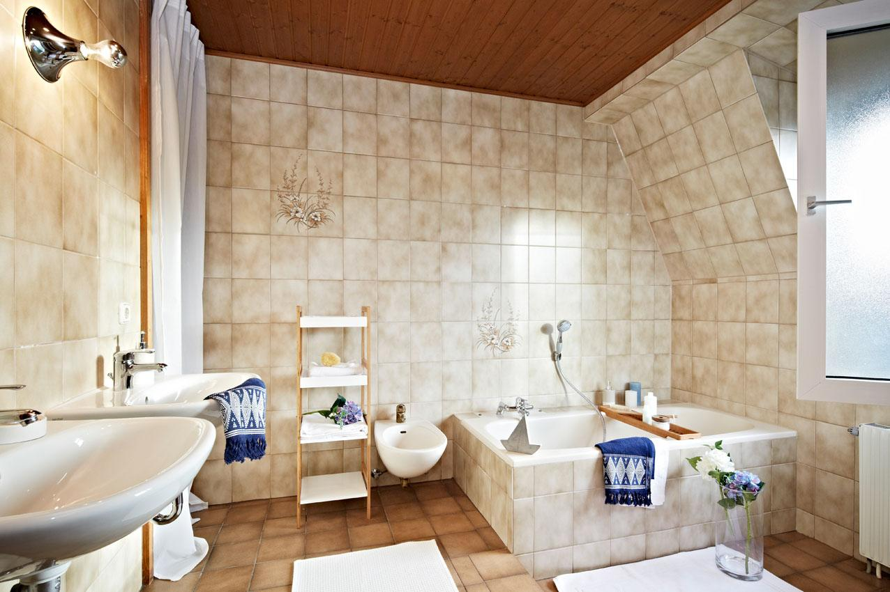 Badezimmer #bad #fliesen ©www.homestaging-bavaria.d