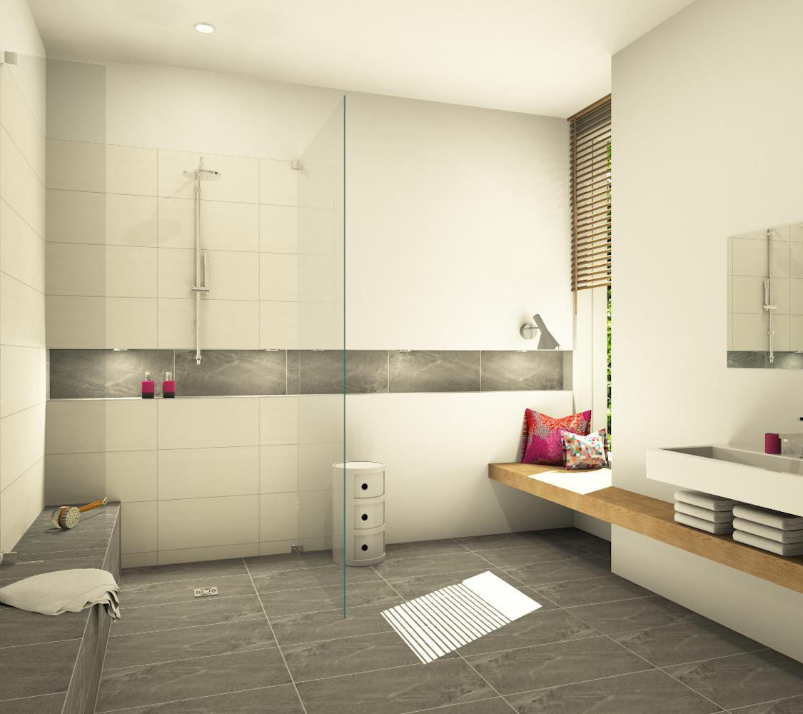 Badezimmer badezimmer badezimmerspiegel dusche w...