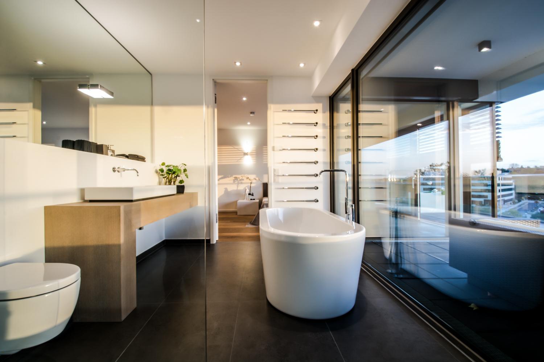 Badezimmer en suite #badewanne #badezimmer #smarthom...
