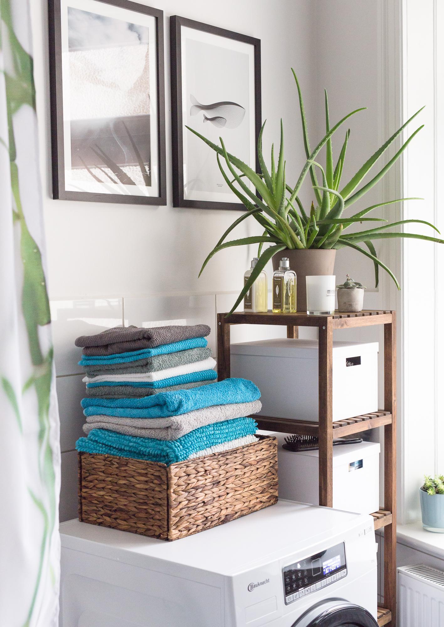 Schön Badezimmer Im Urban Jungle Style. #bad #gruen #sowohneich #meincouchstyle  #designerbad