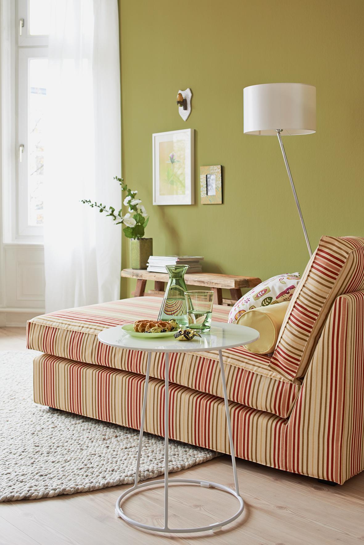 Grüne Wandfarbe Bilder Ideen Couch