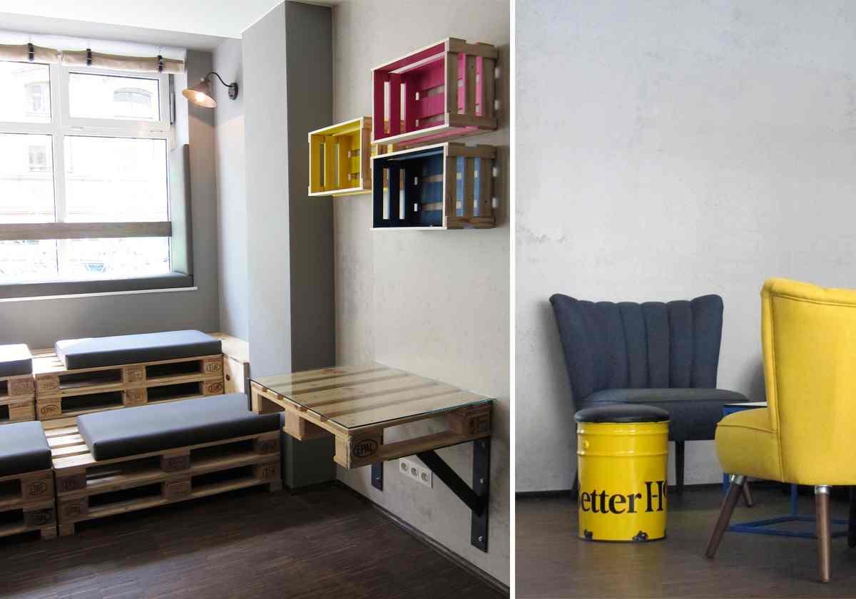 Baxpax Downtown Hostel Berlin Lounge #retro #vintage...