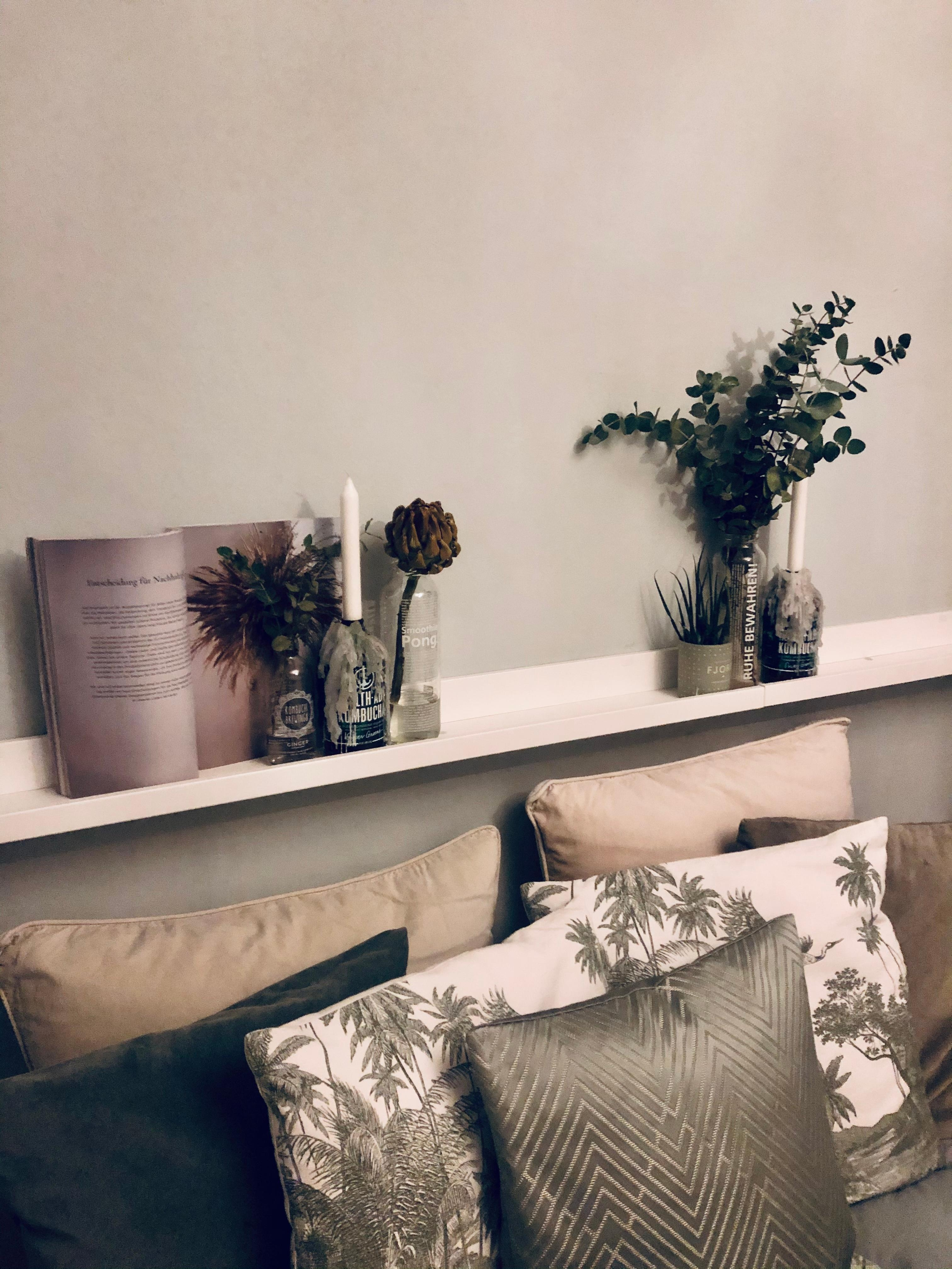 #bedroom #details #ikea #upcycling #sagewalls #eucalyptus #hmhome #roominabox