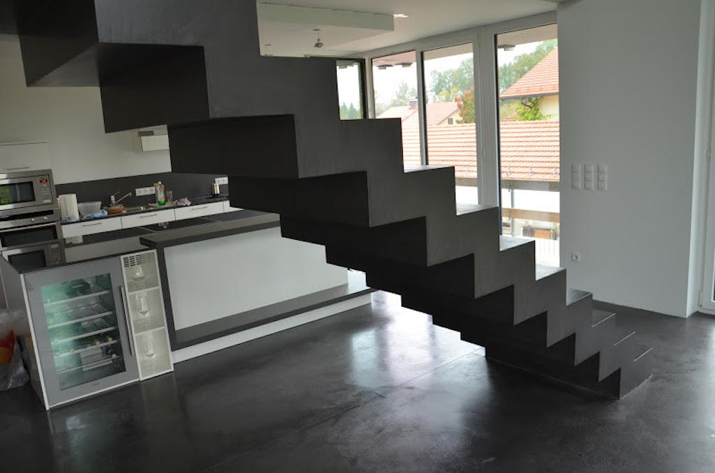 treppe selber bauen beton fabulous balkon treppe selber. Black Bedroom Furniture Sets. Home Design Ideas