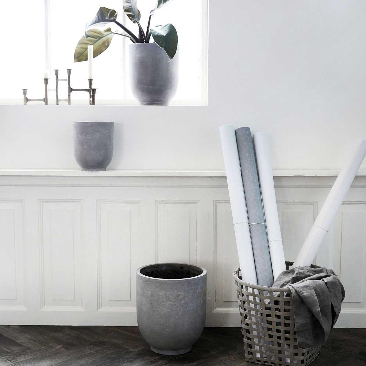 beton style fr pflanzen blumentopf schlicht grau urbanjungle - Beliebt Couchtisch Ausergewohnlich Ideen