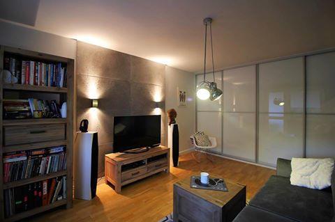 Betonoptik #Wand In #Wohnzimmer #Modern Aber #Gemüt