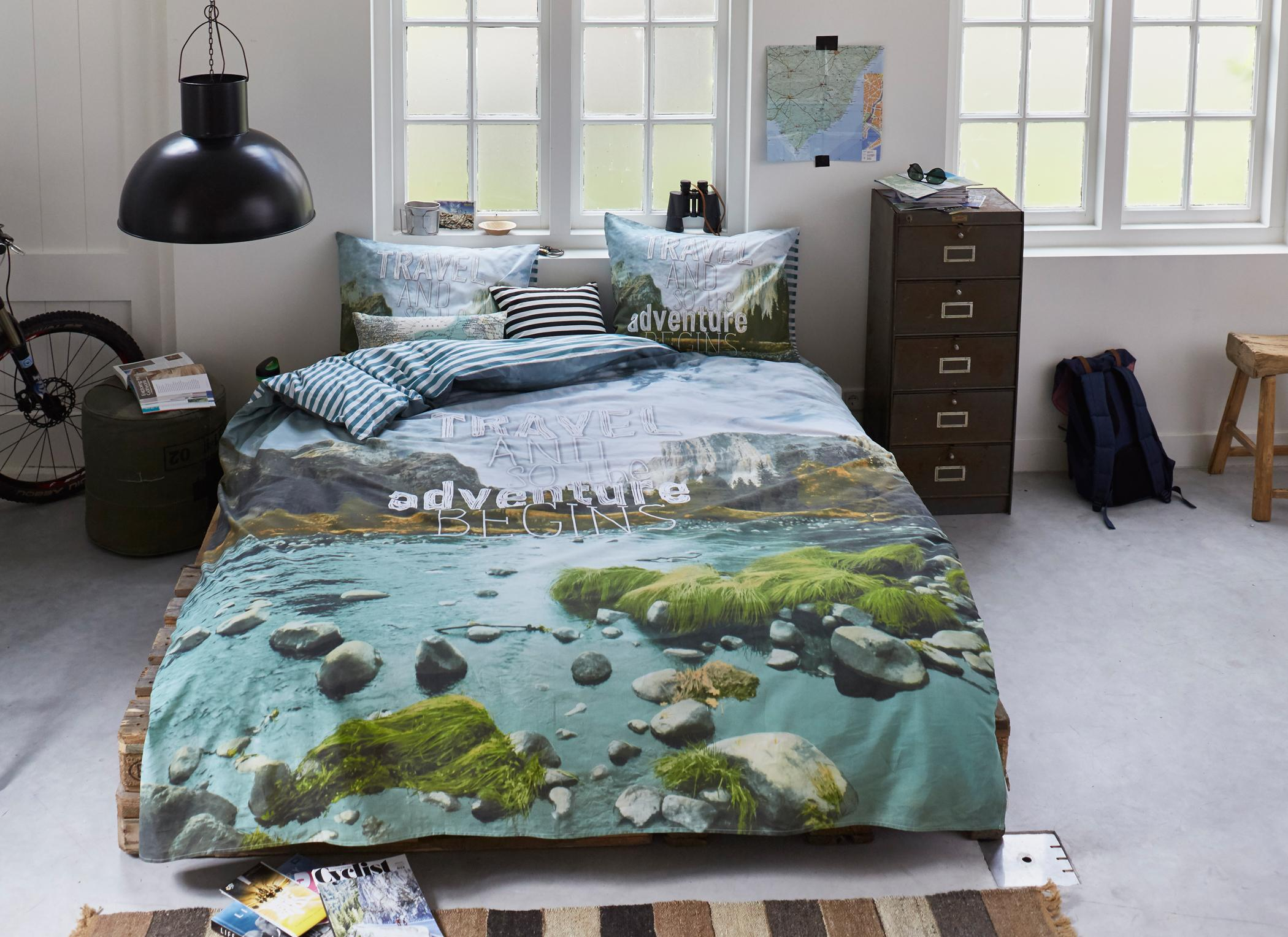 Bettwäsche Mit Fotodruck Im Jugendzimmer Bettwäsche