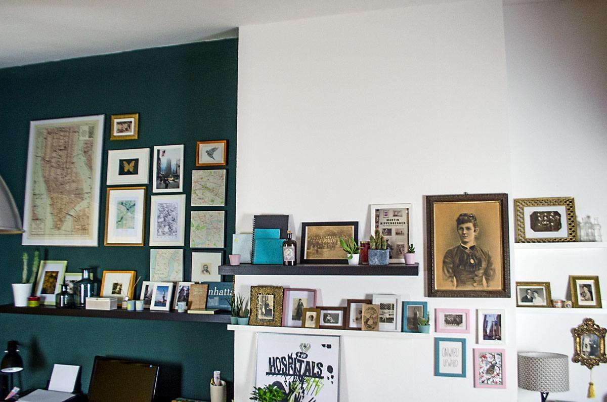 Wandgestaltung kreative highlights bei couch - Wandgestaltung bildergalerie ...