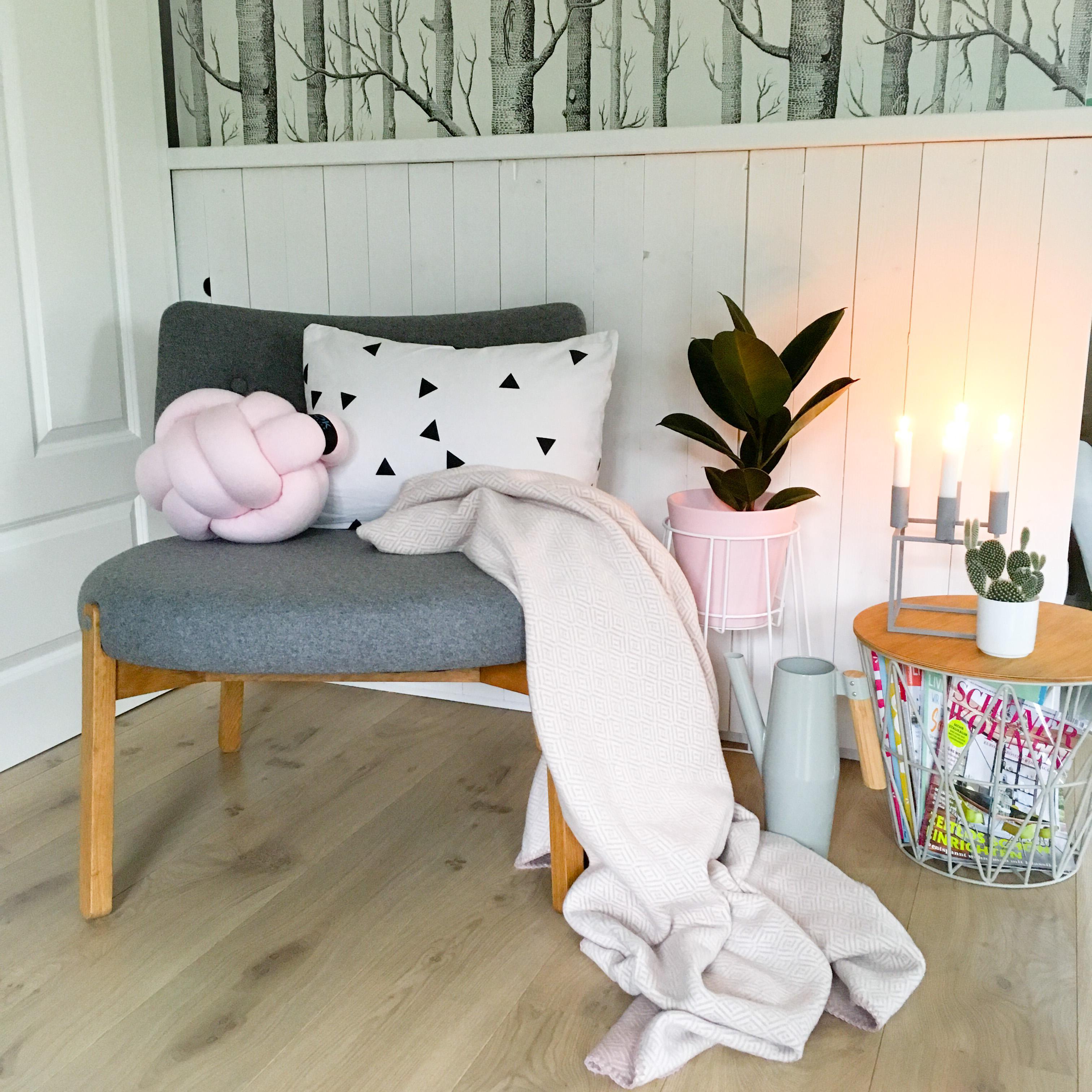 Bitte Platz Nehmen Wohnzimmer Cozy Herbst Interior Kerzen