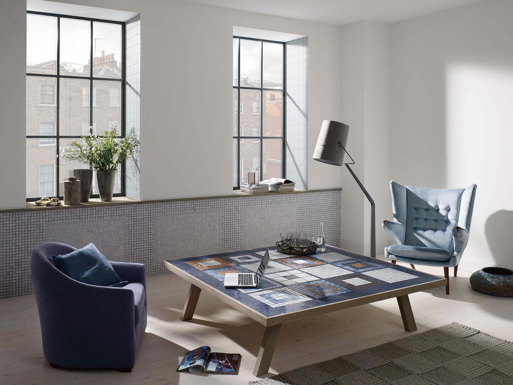 mosaikfliesen • bilder & ideen • couchstyle, Wohnzimmer