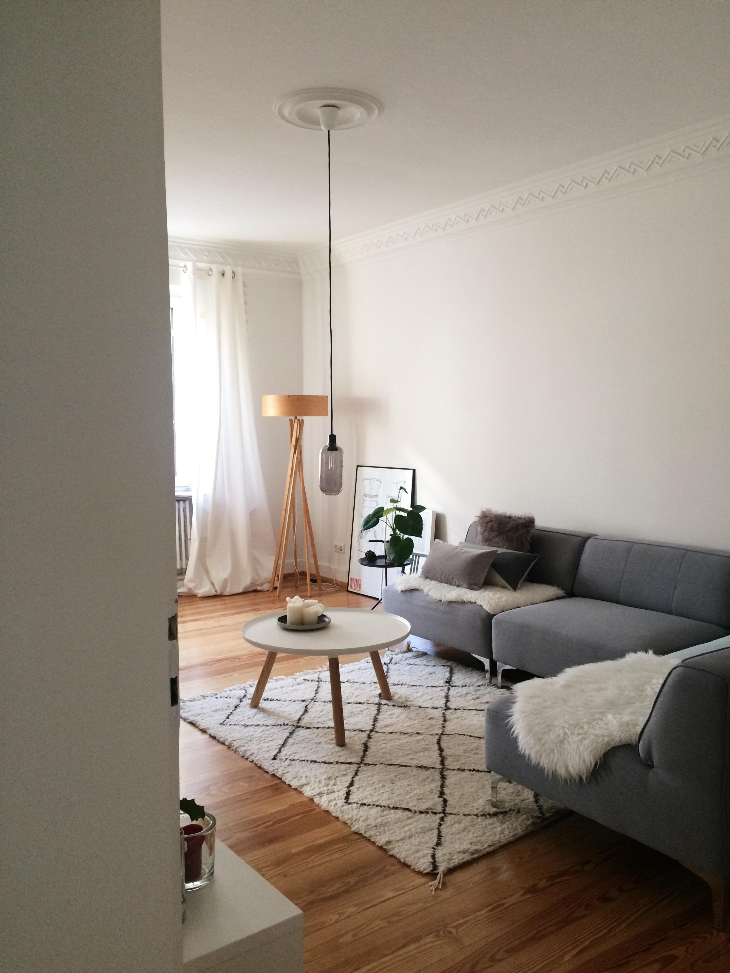 Wohnzimmer nordisch einrichten