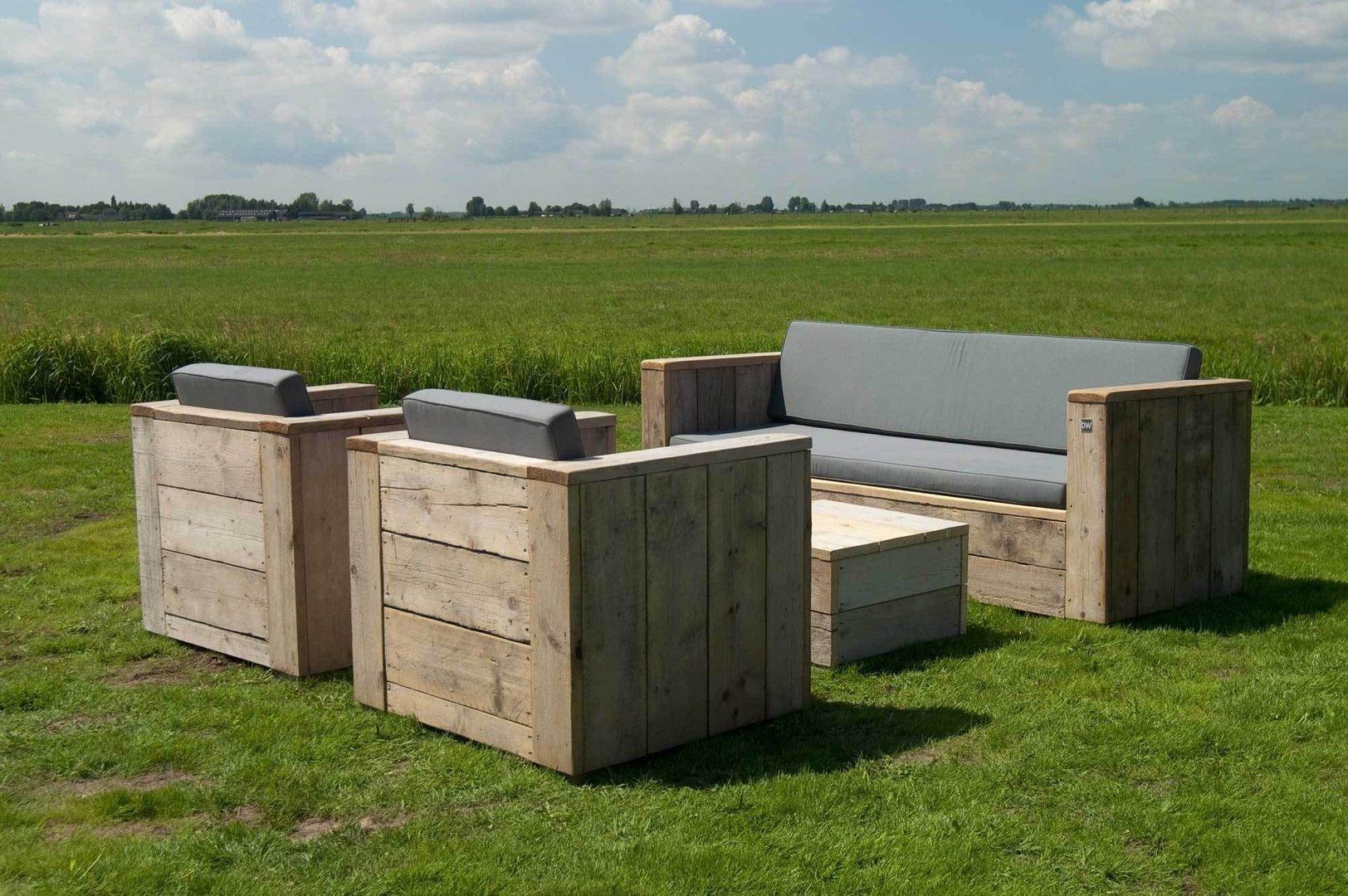 Gartenmöbel Holz Set Mit Bank ~ Gartenlounge u2022 bilder & ideen u2022 couch