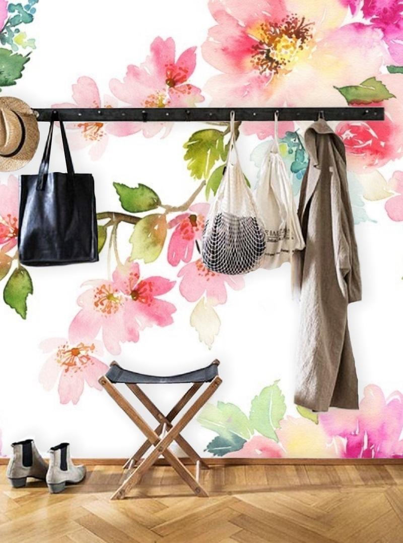 blumen fototapete couchstyle. Black Bedroom Furniture Sets. Home Design Ideas