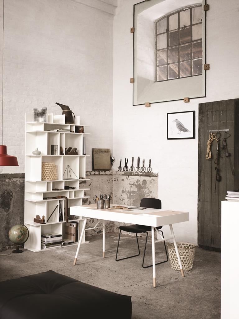 Arbeitsplatz büro schreibtisch BoConcept Arbeitszimmer #stuhl #arbeitsplatz #regal ... • COUCHstyle