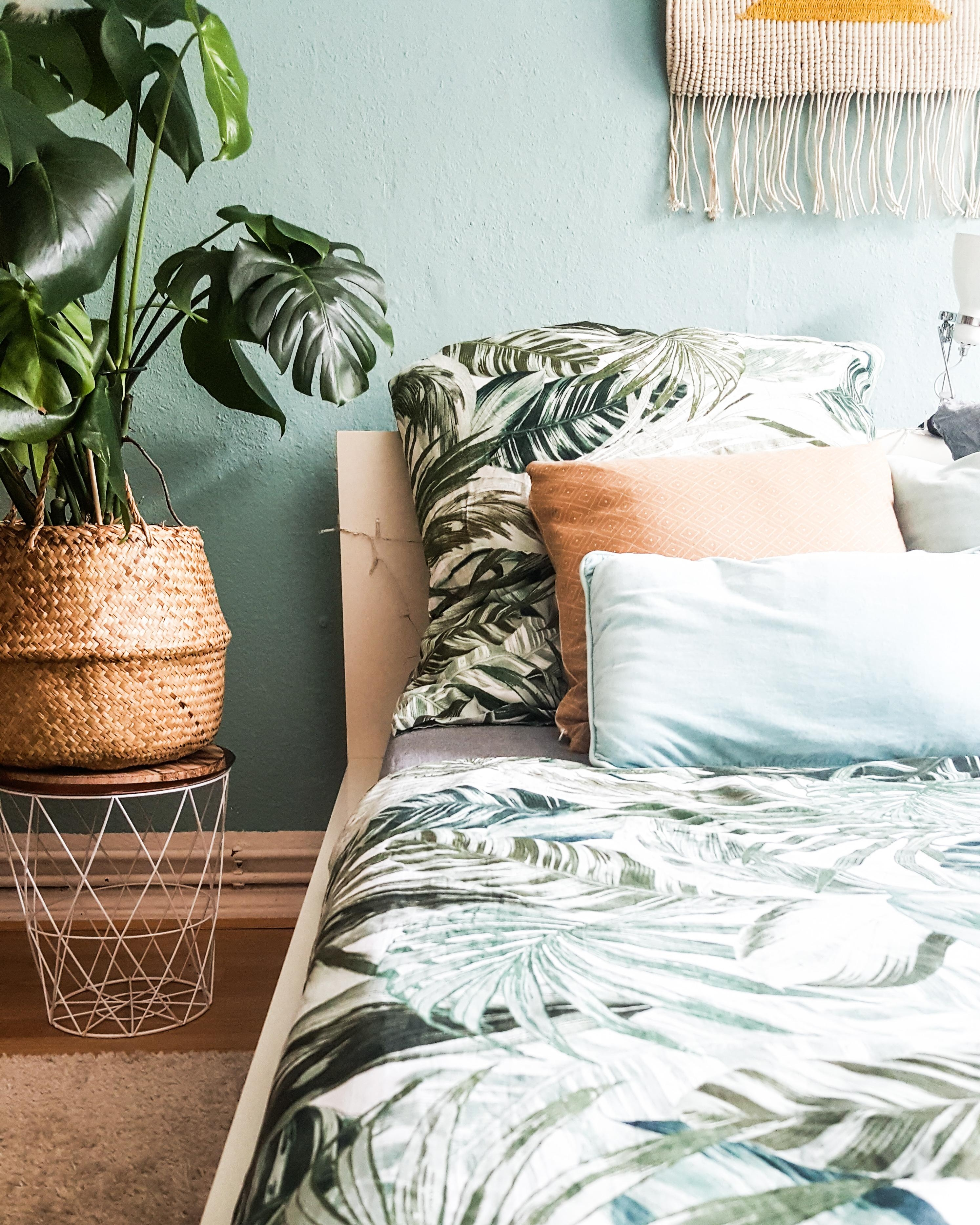 #boho #plants#bedroom#vintage
