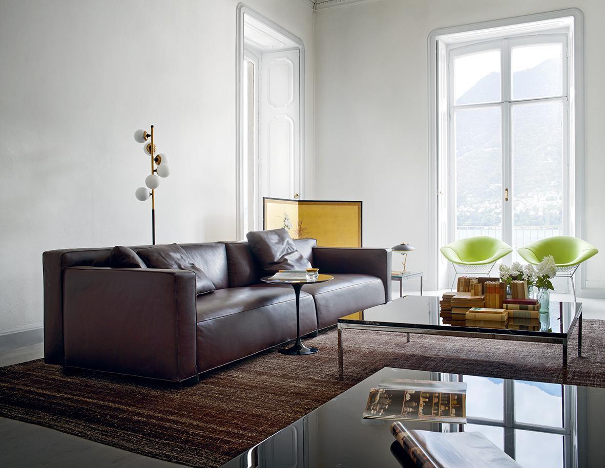Ledercouch braun wohnzimmer  Braunes Ledersofa • Bilder & Ideen • COUCHstyle
