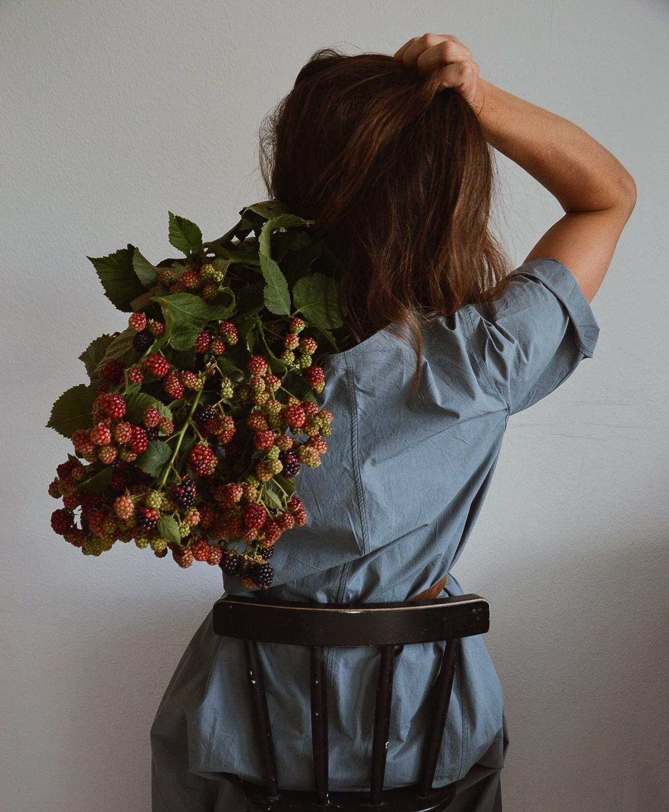 Brombeerliebe #fashioncrush #freshflowerfriday