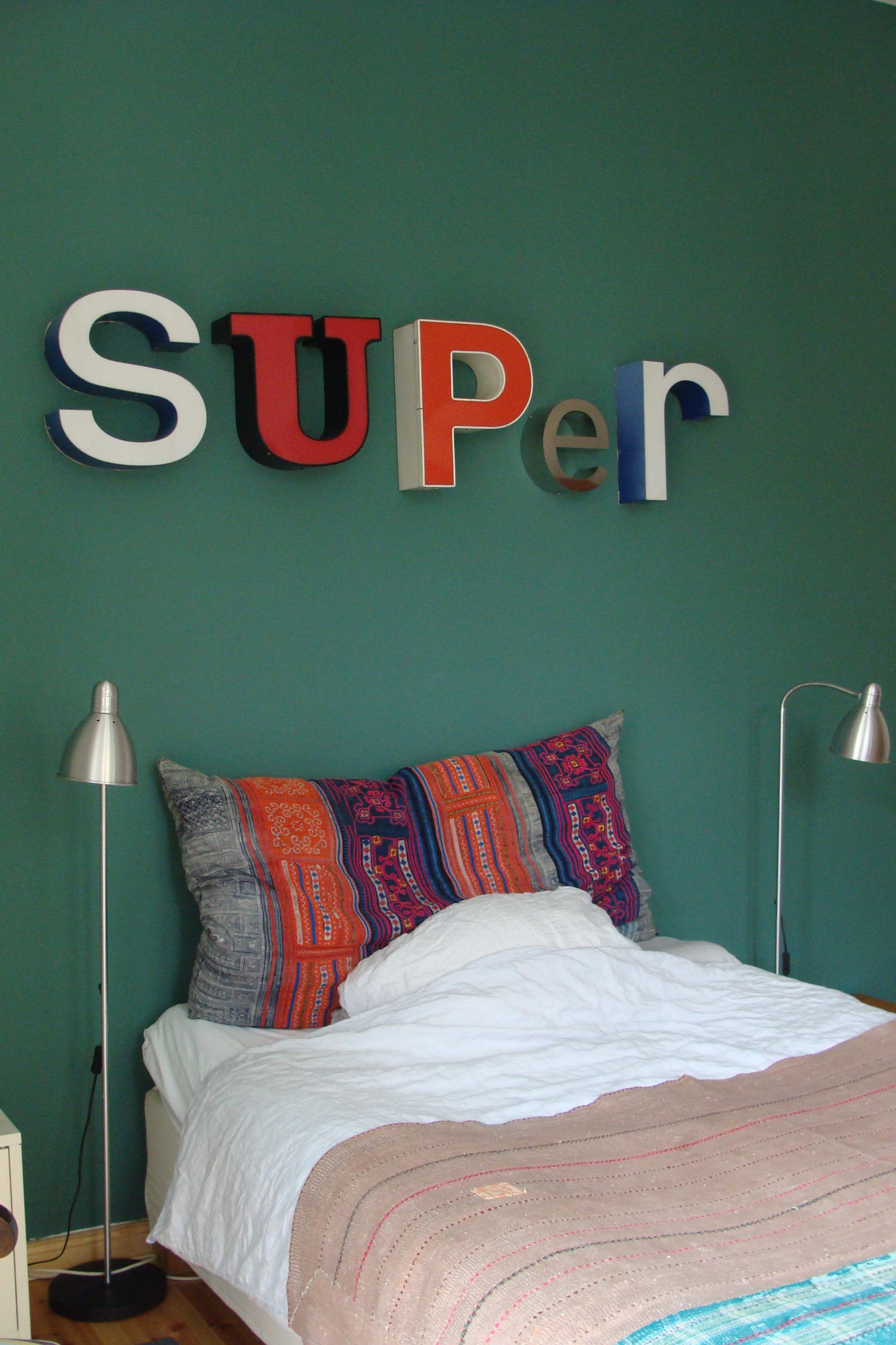 Schlafzimmer Wandgestaltung • Bilder & Ideen • COUCH...